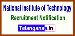 National Institute of Technology Tiruchirappalli NIT Recruitment Notification 2017 Last Date 22-05-2017