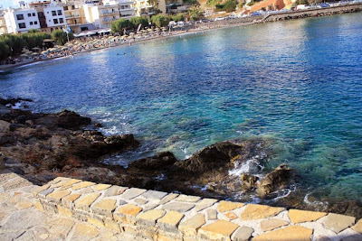 Beach of Agios Nikolaos in Crete