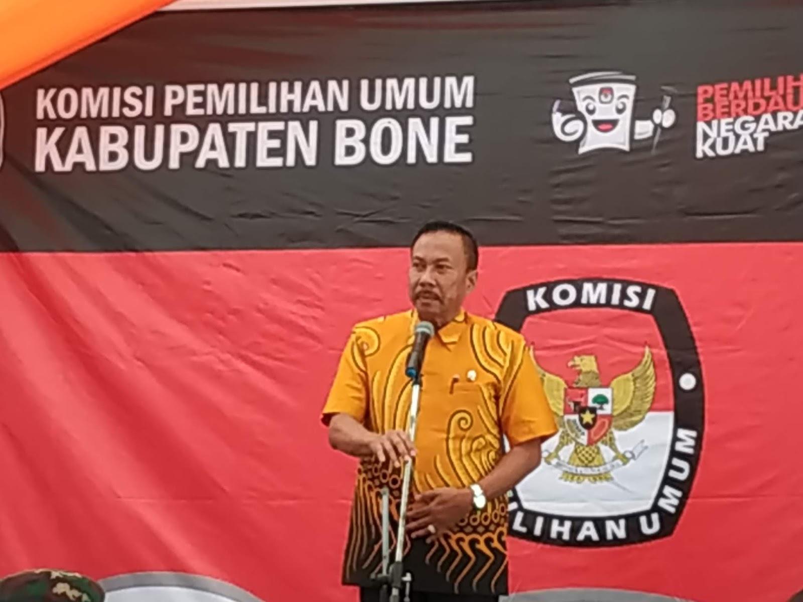 Komisioner KPU Bone Curhat, Wabup Bone : Tidak Ada Alasan Pemilu Tak Terlaksana