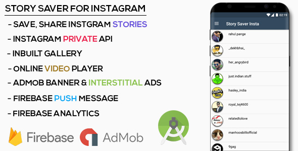 Story Saver for Instagram | Codelist | Download Free Apps