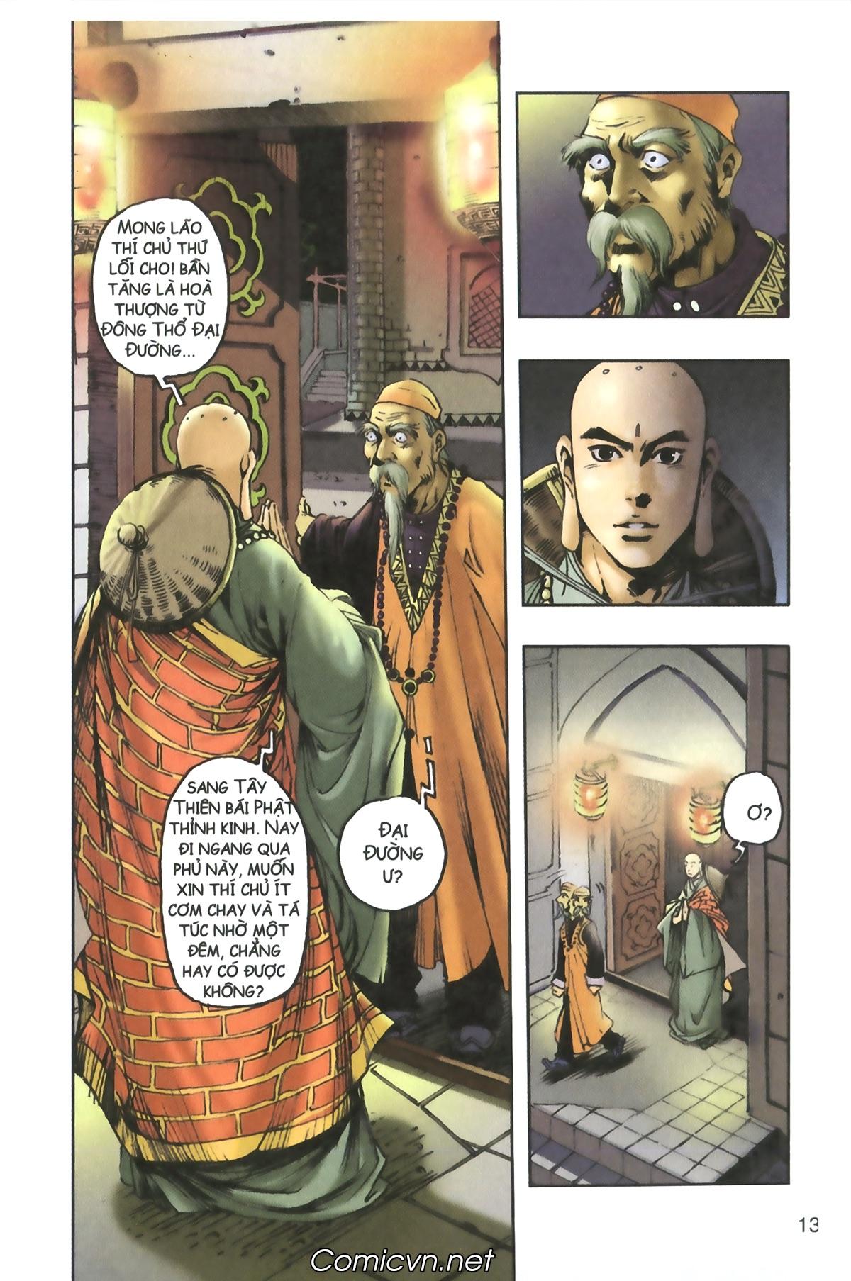 Tây Du Ký màu - Chapter 91 - Pic 13