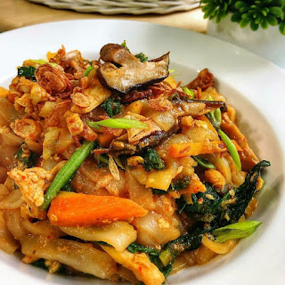 Ide Resep Masak Kwetiaw with Mushroom and Chicken