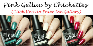 Pink Gellac by Chickettes Swatch Gallery