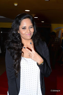 Anasuya Stills at Devi Sri Prasad Live Music and Dance Premiere Show