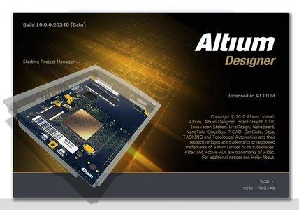 برنامج رسم وتصميم اللوحات الالكترونية Altium Designer 17.1.9