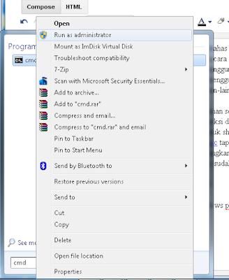 Cara mudah Share Wifi id Menggunakan CMD di Windows 7,10