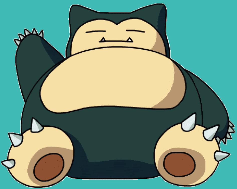 Adults Pokemon pikachu Snorlax fat