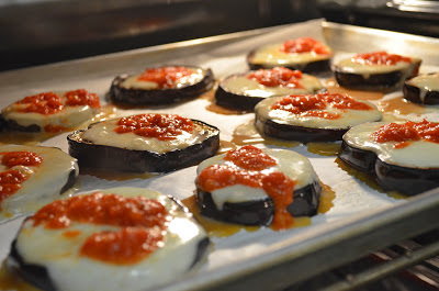 A Recipe for Eggplant and Mozzarella Rounds from For The Love Of Italy