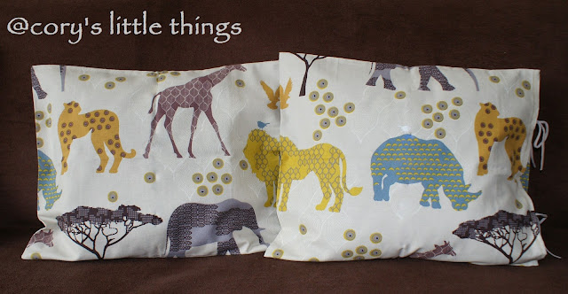 """Safari trip"" pillows / Fete de perna  ""Safari trip"""