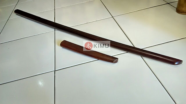 KIMU Dark Dragon Bokken & Dark Tanto