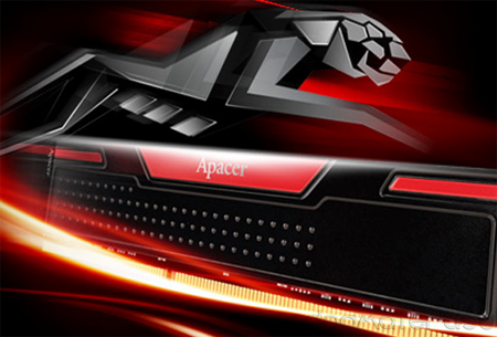 Apacer Black Panther 2GB DDR3 PC12800 1600Mhz
