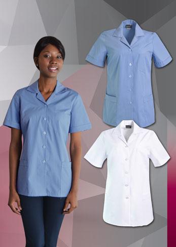 Nurses uniforms udine nurses blouse for Spa uniforms johannesburg