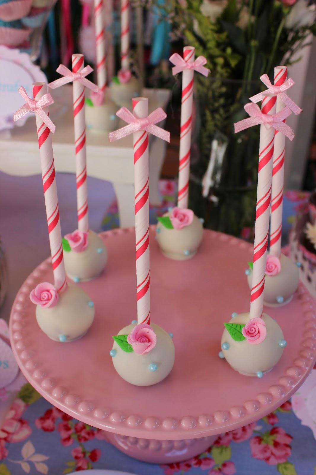 Violeta Glace Cakepops