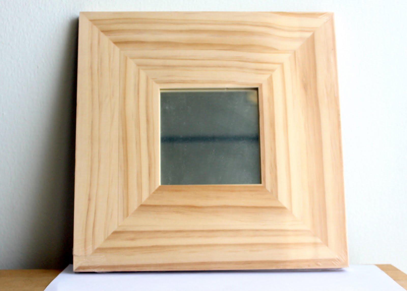 Square Art Squared Ikea S Malma Mirror Frame