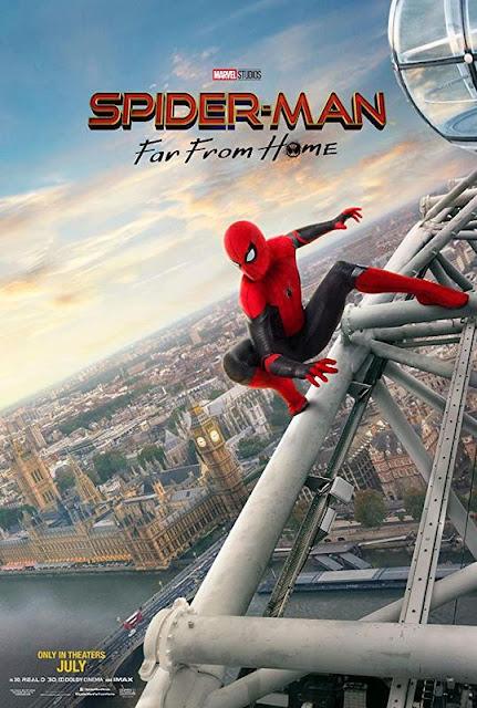 Poster de 'Spider-Man: Lejos de Casa' en Londres