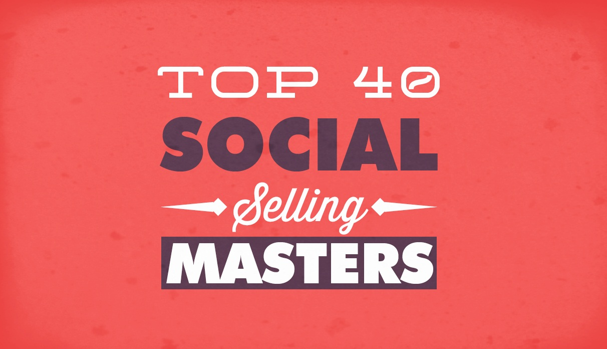 World's 40 Most Influential #SocialMedia Marketing and Selling Masters - #infographic