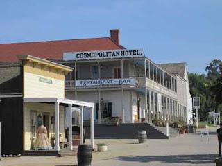 The Cosmopolitan Hotel.
