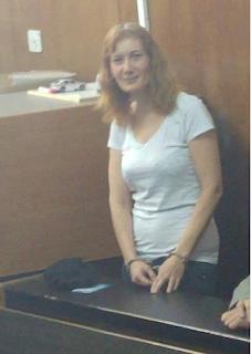 לורי שם טוב אזוקה באולם בית משפט השלום תל אביב בפני השופט עלאא מסארווה - מרץ 2017.