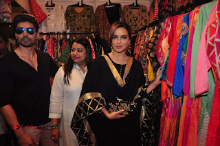 Bollywood Actress Sana Khan Launches Aakrithi Exibition  0361.JPG