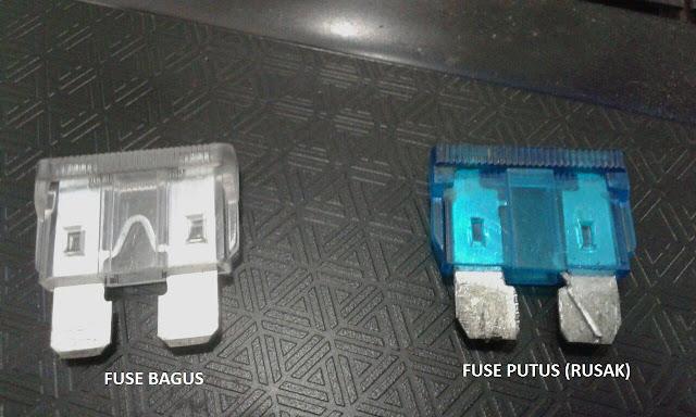Perbedaan Fuse bagus dan Fuse rusak ( putus )