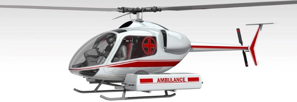 Санітарна модифікація гелікоптеру ВМ-4