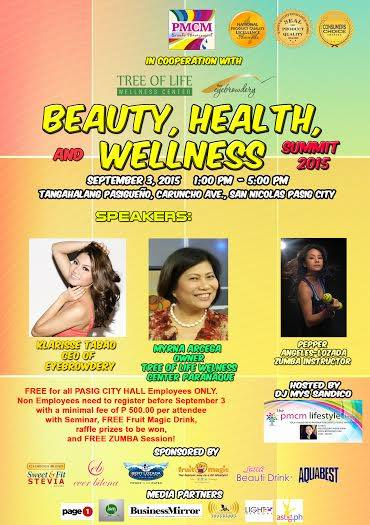 Beauty, Health and Wellness Summit 2015