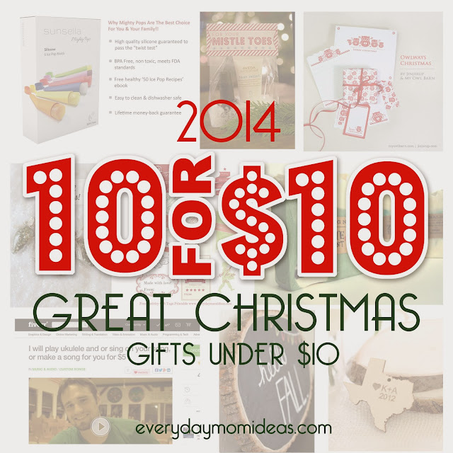 Unique Gifts Christmas: 10 Unique Christmas Gifts Under $10! (2014 Gift Guide