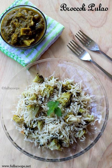 Broccoli Pulao