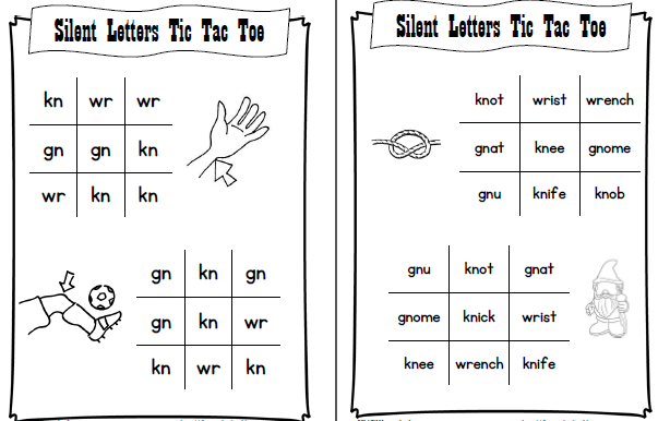 These free worksheets are printable and designed to accommodate any lesson plan for reading that includes. Phonics Silent Letters Tj Homeschooling