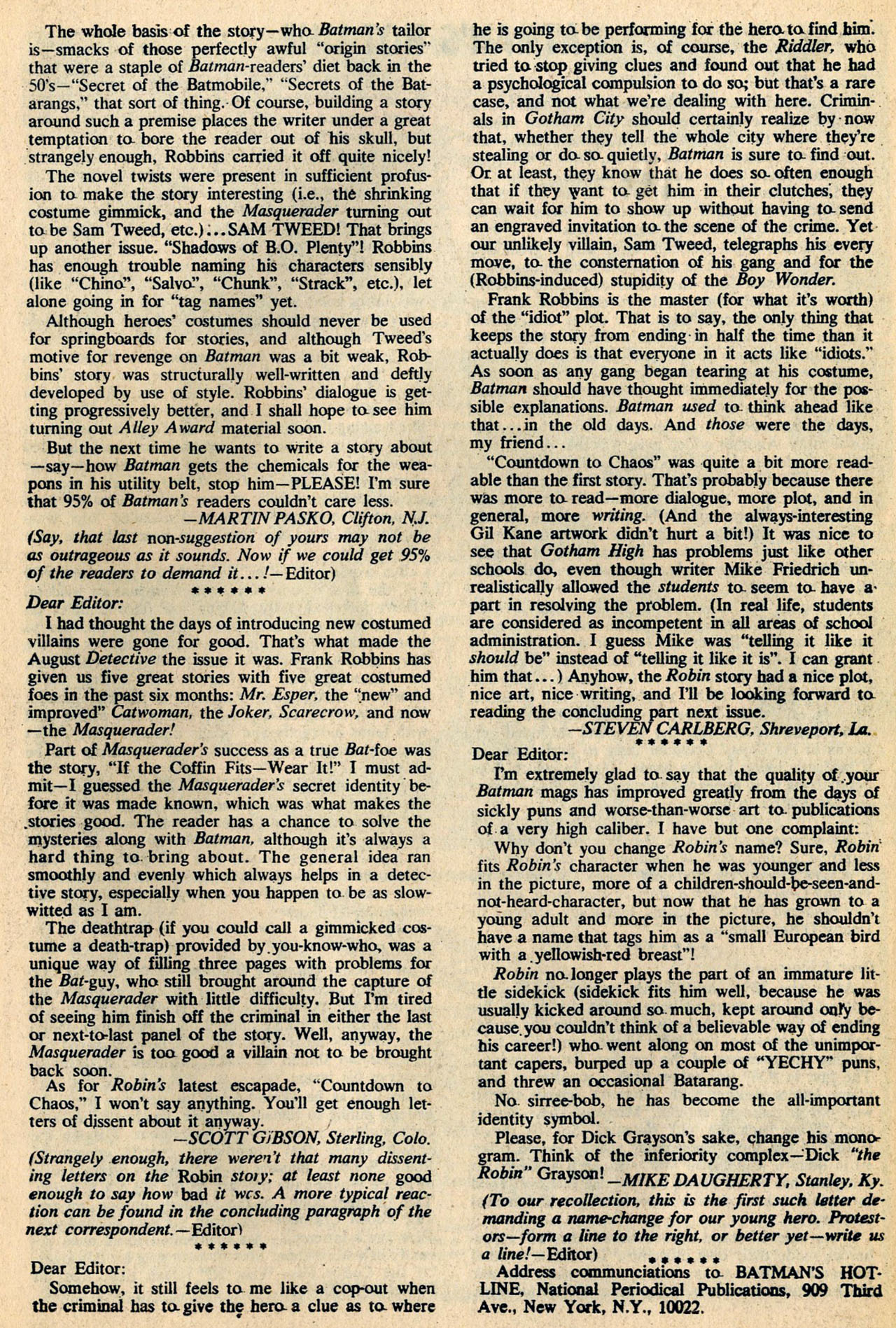 Detective Comics (1937) 394 Page 32