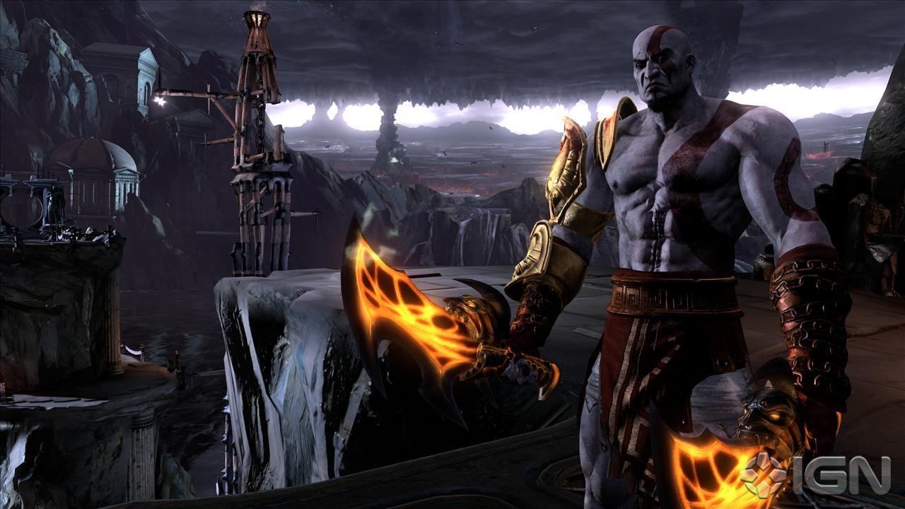 God of war 3 kratos baisse avec aphrodite 7
