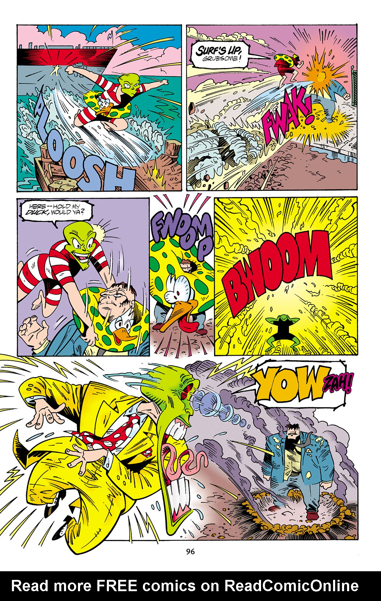 Read online Adventures Of The Mask Omnibus comic -  Issue #Adventures Of The Mask Omnibus Full - 96
