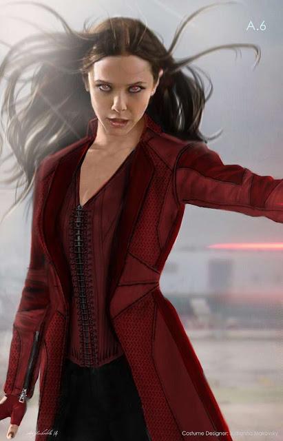 Elisabeth Olsen es Scarlet Witch en Civil War