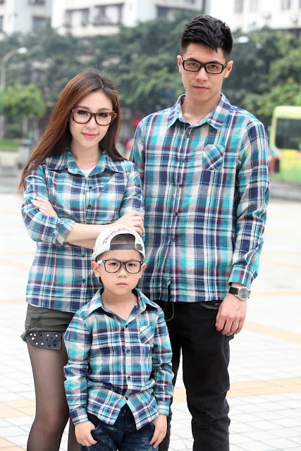 Baju Kemeja Couple Keluarga Korean terbaru 2016