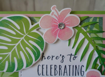 Craftyduckydoodah!, Tropical Chic, Tropical Escape DSP, Stamp N Hop, Supplies available 24/7 from my online store, Stampin' Up! UK Independent  Demonstrator Susan Simpson, #lovemyjob, #stampinupuk,
