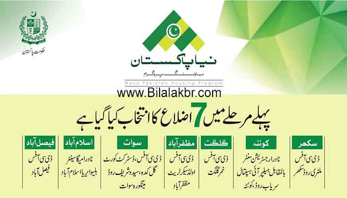 Naya Pakistan Housing Program (NPHP) How to Apply and Download Registration Form