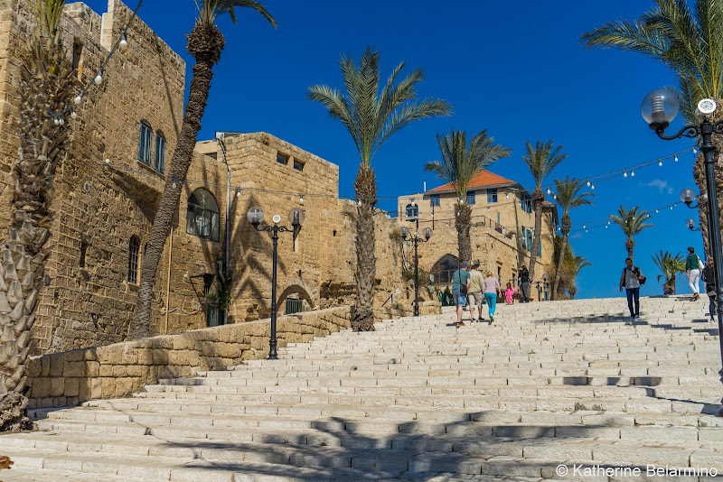 Old Jaffa Steps Things to Do One Day in Tel Aviv