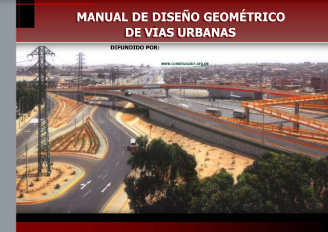 Manual de dise o geom trico de vias urbanas aporte a la for Manual de diseno y construccion de albercas pdf