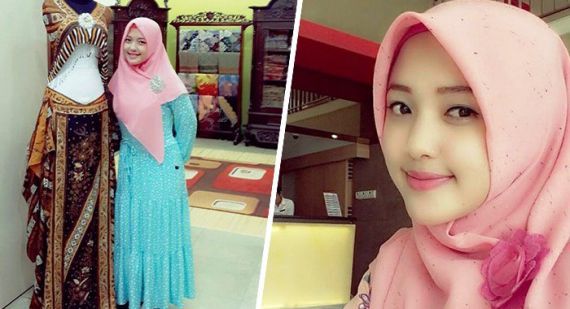 Kisah Wanita Muslimah Cantik, Sally Giovanny Milioner Batik