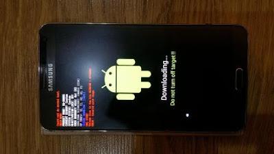 حل مشكلة Volume size is too big في جهاز Galaxy Note 3 SM-N9005