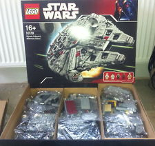 lego star wars millenium falcon sold on ebay for £1420
