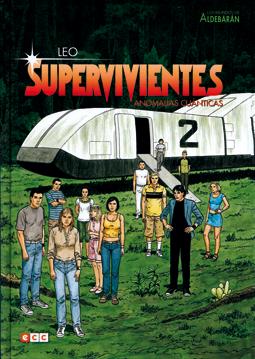 Supervivientes -anomalías cuánticas, comic de Leo ciencia ficción, edita ECC