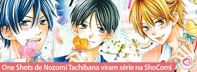 One Shots de Nozomi Tachibana viram série na ShoComi