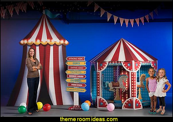 Carnival Spectacular Carousel decorating  Kit