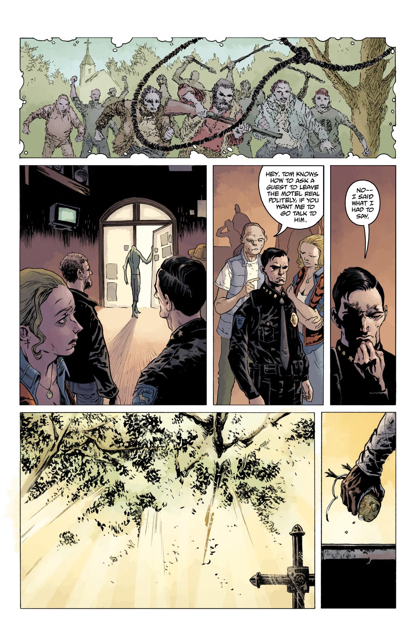 Read online Abe Sapien comic -  Issue #10 - 23