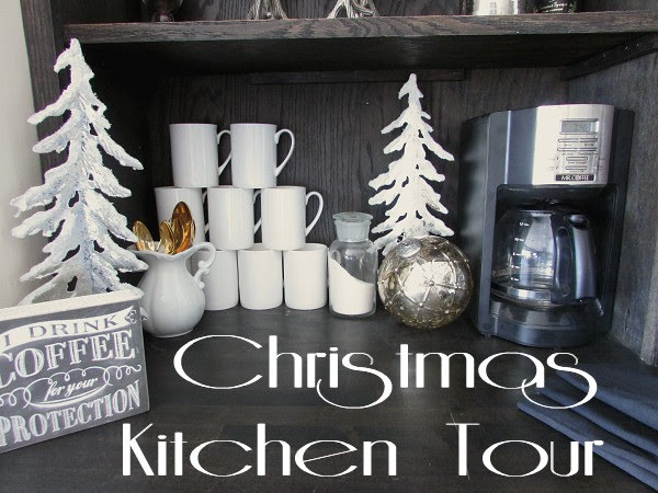 Kitchen Tour for Christmas
