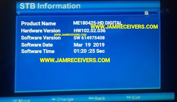 ALI3510C HW 102 02 036 NEW POWERVU SOFTWARE 2019 - Jam Receivers