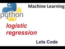 Machine Learning-Logistic Regression