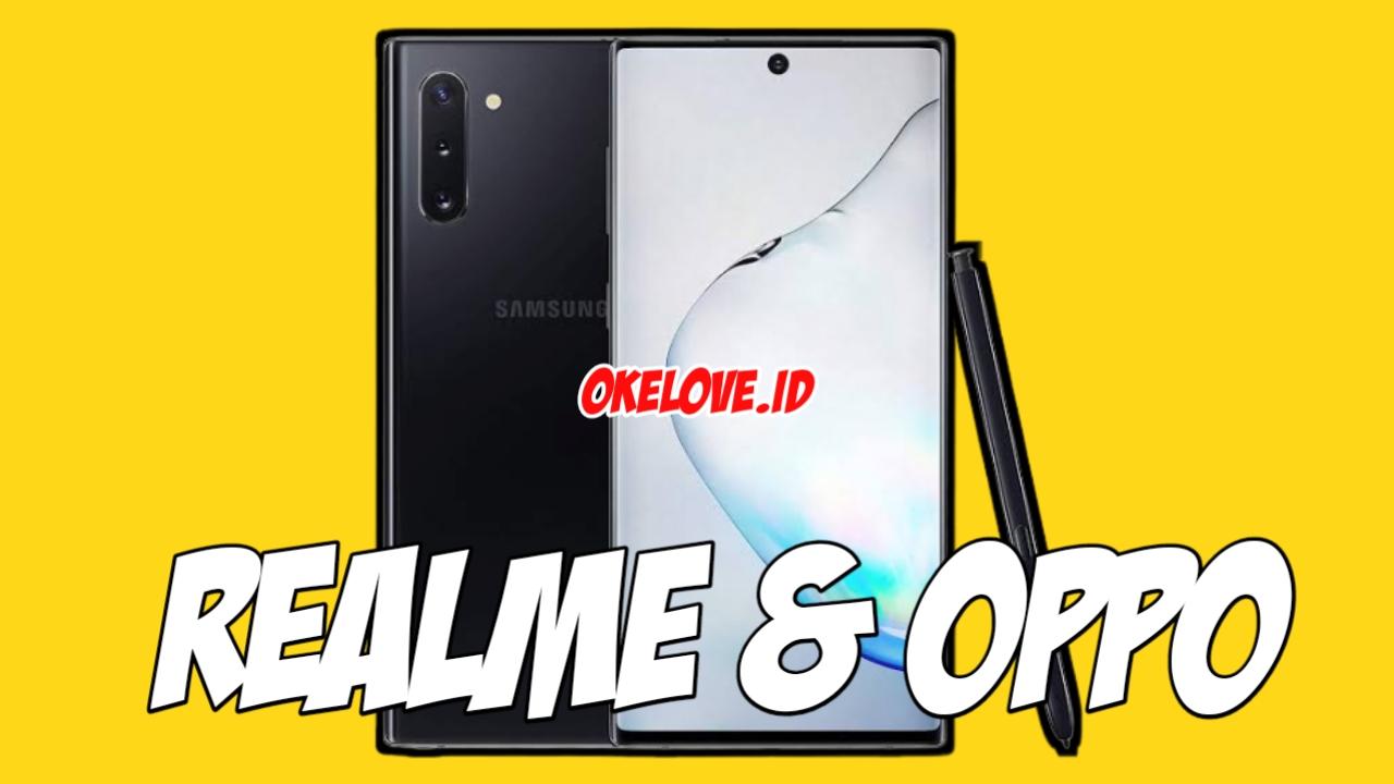 Tema Samsung Note 10 Untuk OPPO & Realme