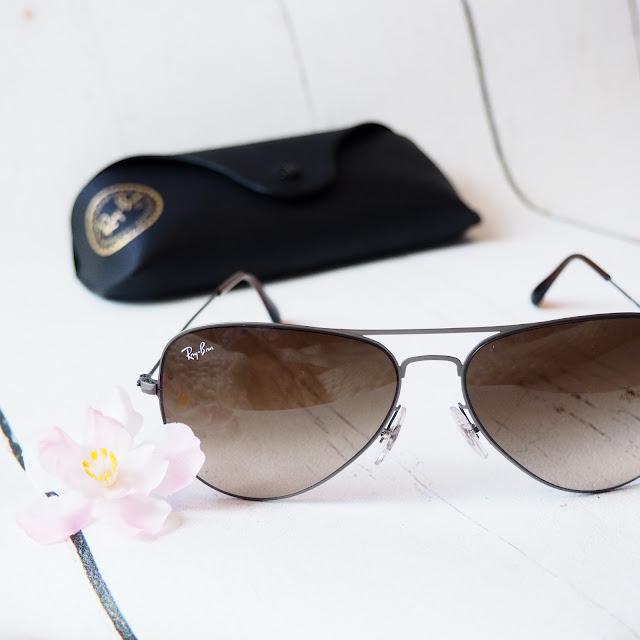 Ray-Ban 3513 Aviator Gunmetal Sunglasses